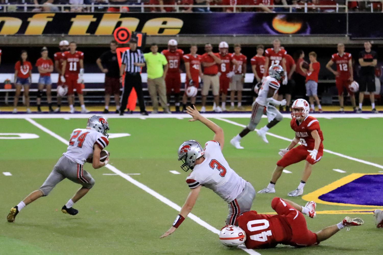 Cedar Falls Overcomes City High 47-0