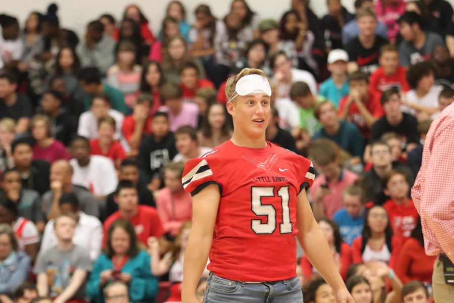 Extreme Red and White Pep Rally Before the Battle for the Little Cy-Hawk Trophy
