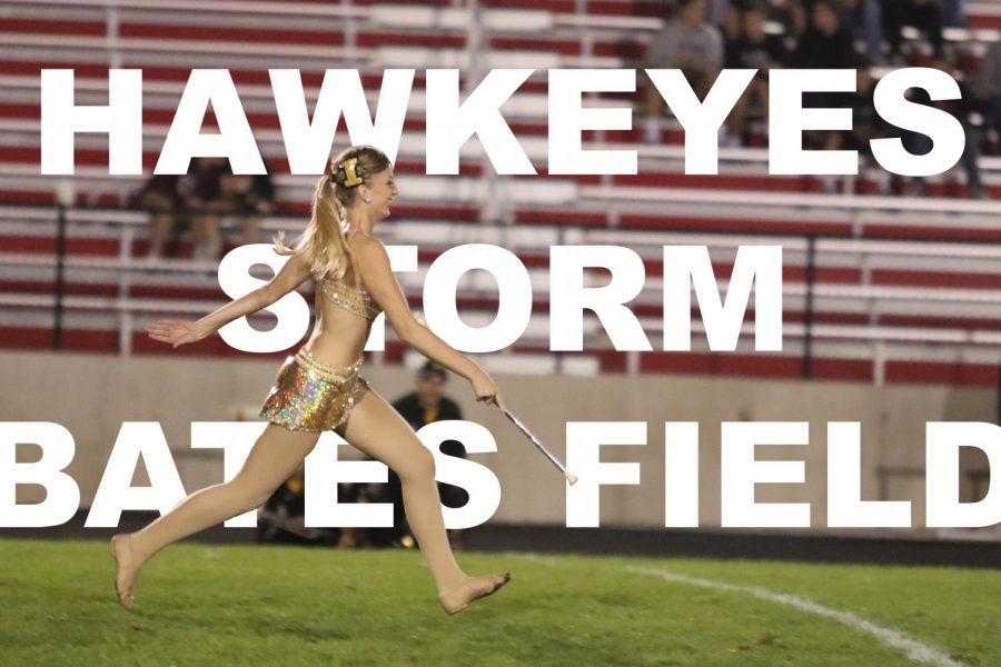 Hawkeyes Storm Bates Field