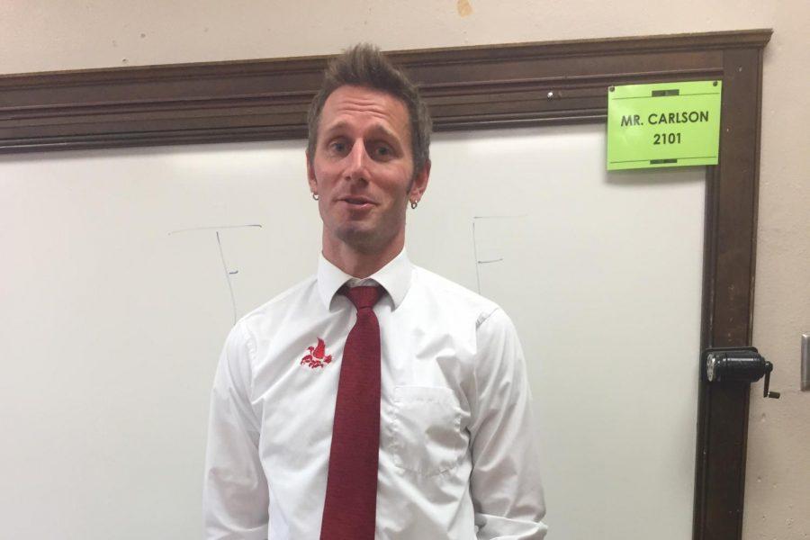 New Teacher Profile: Mr. Carlson