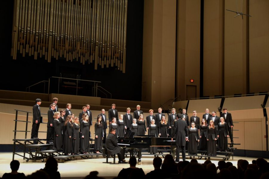 Top District Choirs Come to Voxman