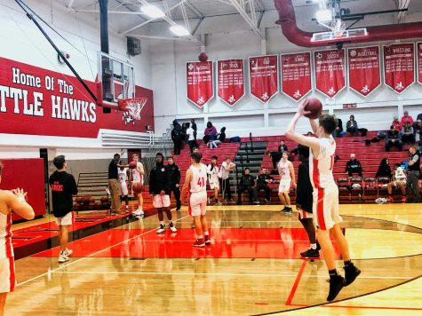 Little Hawks Pull Away Late in Preseason Game
