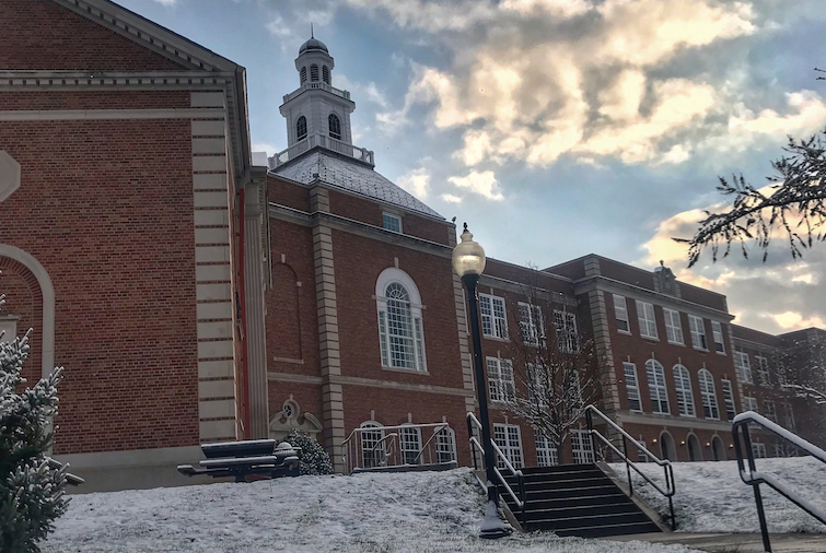City High and Iowa City received its first recorded snow fall on November 9th.