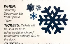 Snowball Dance Set for December 8, Vanlo to D.J.