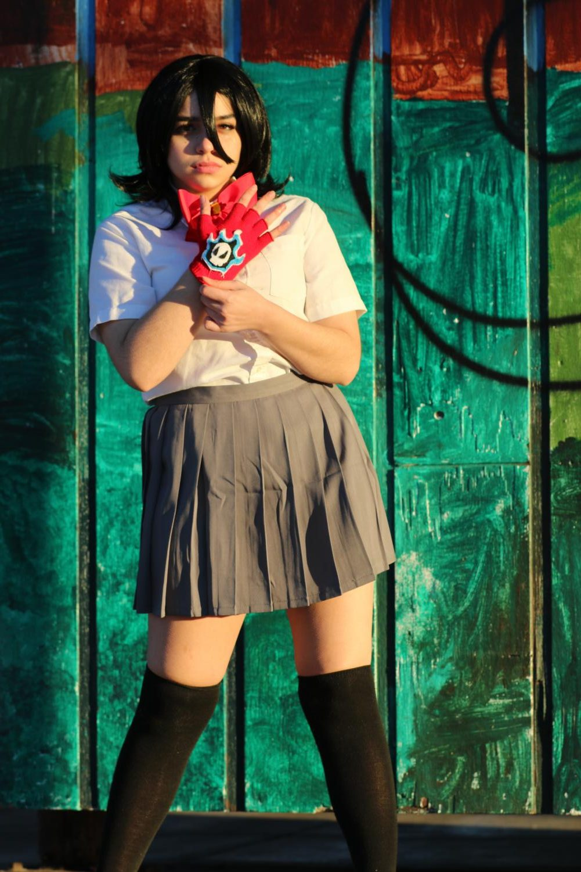Josie+Frisina+%2719+cosplays+as+Rukia+from+Bleach%2C+a+demigod+teenager.+