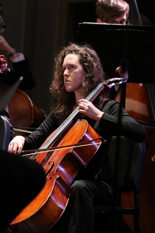 Sylvia+Gidal+%2720+performs+during+the+third+movement
