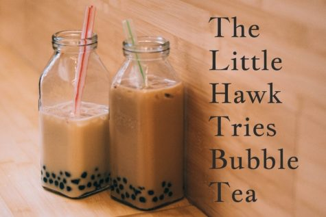 The Little Hawk Tries Bubble Tea