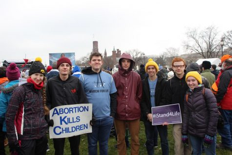 Students Demonstrate Against Abortion at the March for Life in Washington, D.C.