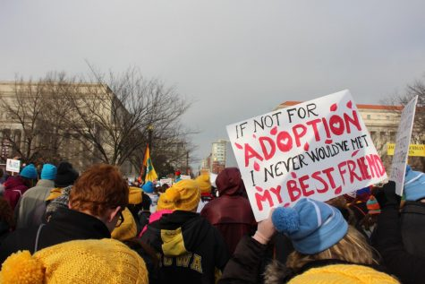 Anti-Abortion marchers at the 2019 March for Life