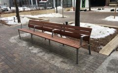 Downtown Benches Cause Controversy
