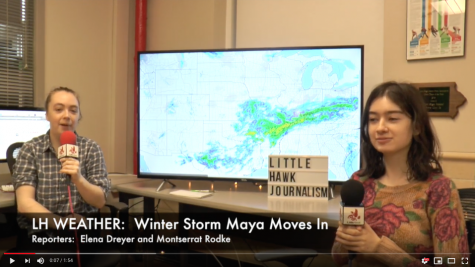 BREAKING:  Winter Storm Maya to  Hit Iowa City with 5 to 8 Inches of Snow