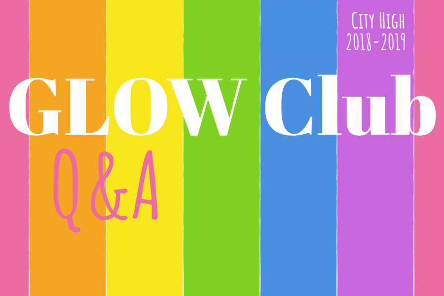 GLOW Club serves as a safe place for members of the LGBTQ+ community.