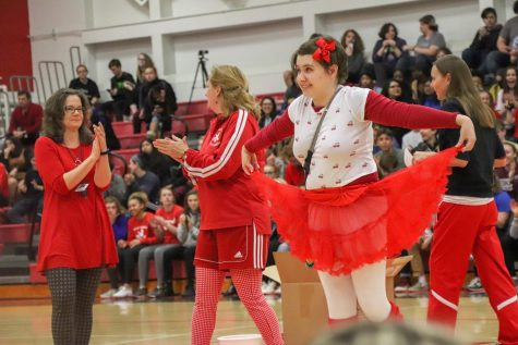 Bob Busts a Move to Win Pep Rally Dance Competition