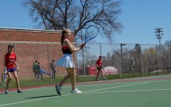 Womens Tennis Faces off against Cedar Rapids Kennedy
