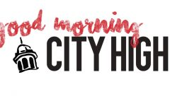 Good Morning City High!  Watch live on Facebook!