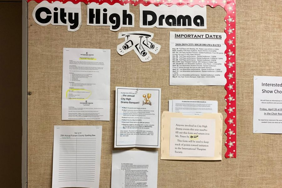 City Drama Students to put on