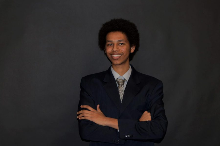 Yasar Hassan '19 as President Obama