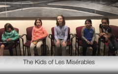 The children of Les Miserables were chosen from over fifty auditions.