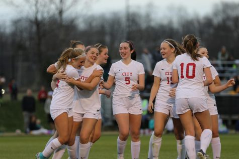 Girl's Soccer Beats Hempstead With PK In Overtime