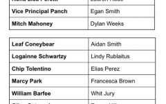"""Drama Board's """"25th Annual Putnam County Spelling Bee"""" is Cast"""