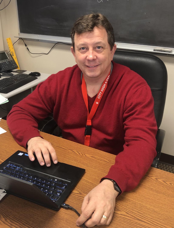 Mr. Hightshoe smiling