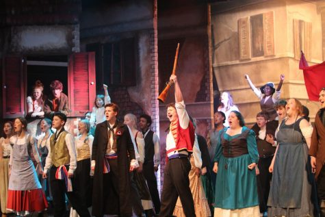 City High Pit Prepares for Les Misérables