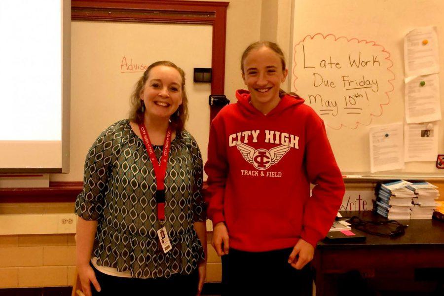 haley Johannsen teaches english 10 and US literature