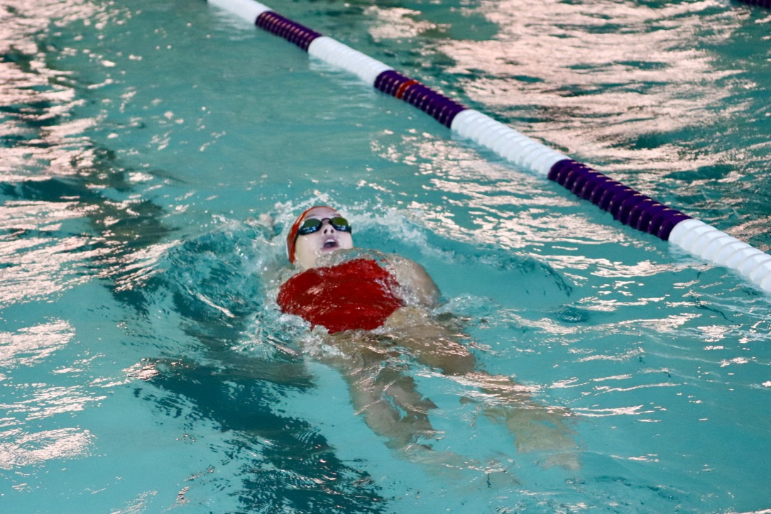 The Little Hawk swim team kicked off the season strong with a win against Dubuque Hempstead.