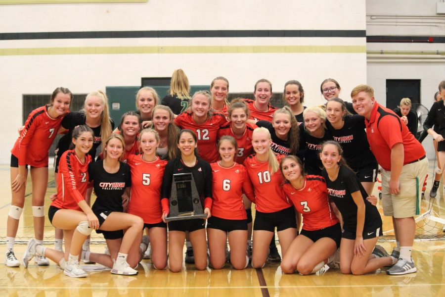City defeats West to reclaim the Golden Spike trophy.