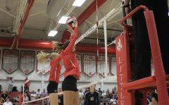 Little Hawks Volleyball Against Xavier