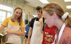 Culinary Club Cooks the Pasta