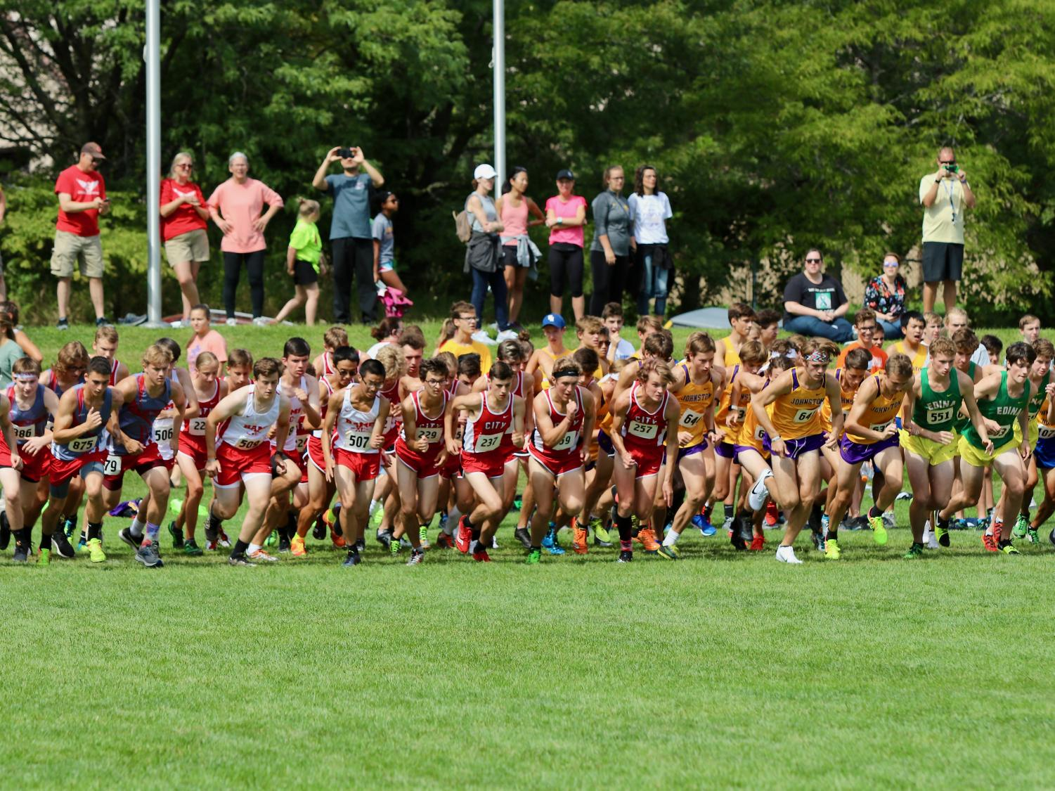 The boys JV begin their race on September 7th at Pleasant Valley.