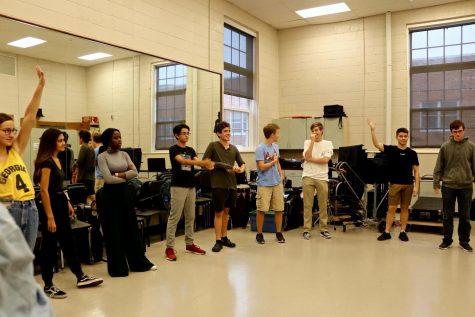 Christmas Carol Cast Starts Rehearsal: Photo Story