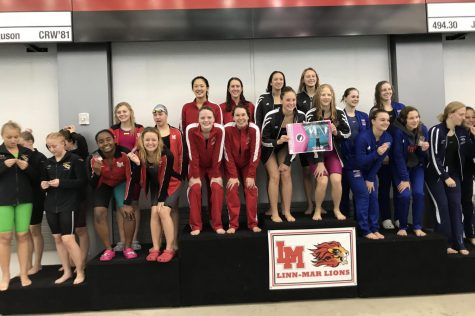 Girls Swimming Grabs Third Place Finish at Regionals to Qualify for State