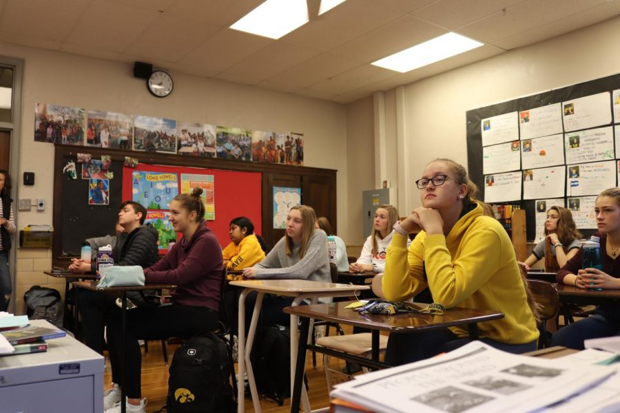 Dance Marathon  discusses upcoming plans for the year.