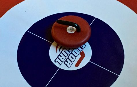 The curling club kit used in practice.