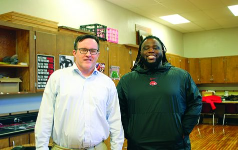 Student Advisory Center Leaders Doug Hammill and Ja'Korey Walker.