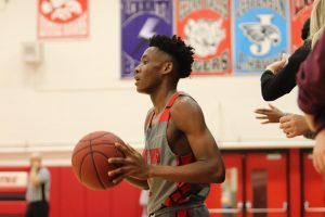Varsity Boys Basketball: Seeking Control