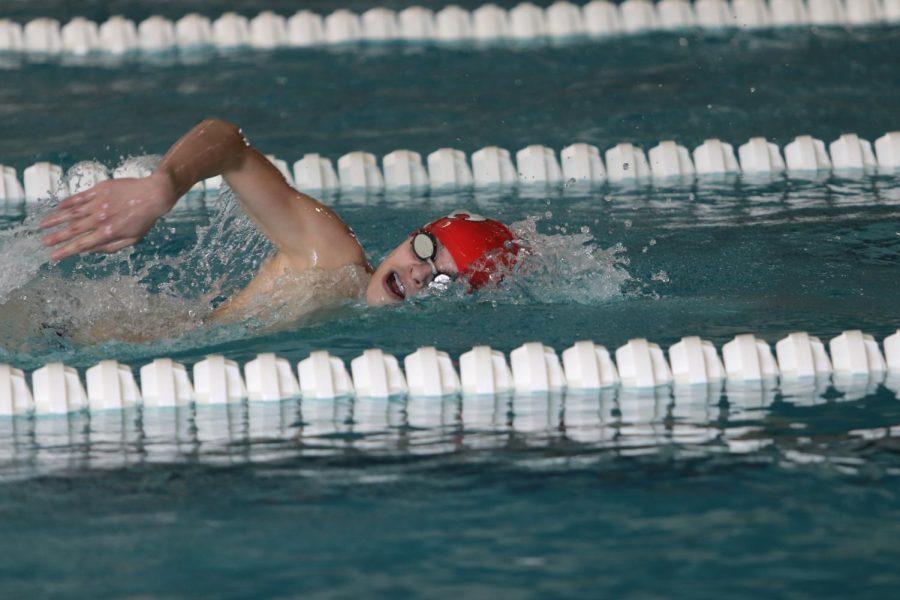 Boys Swimming Places 5th at Little Hawk Invite