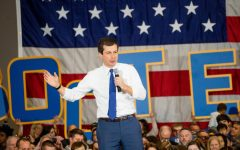 Pete Buttigieg Speaks at Coralville's Marriott Hotel