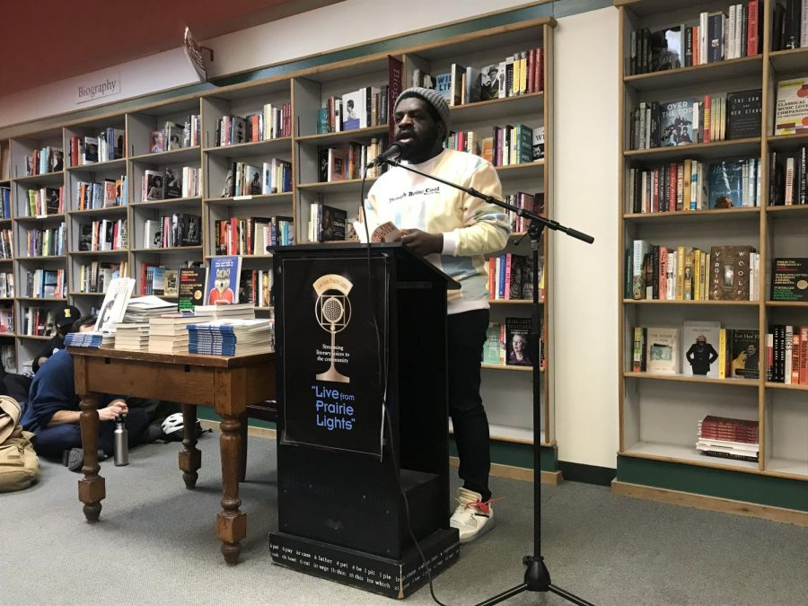 Hanif Abdurraqib is visiting the University of Iowa non-fiction writing program and plans on coming to City High School.