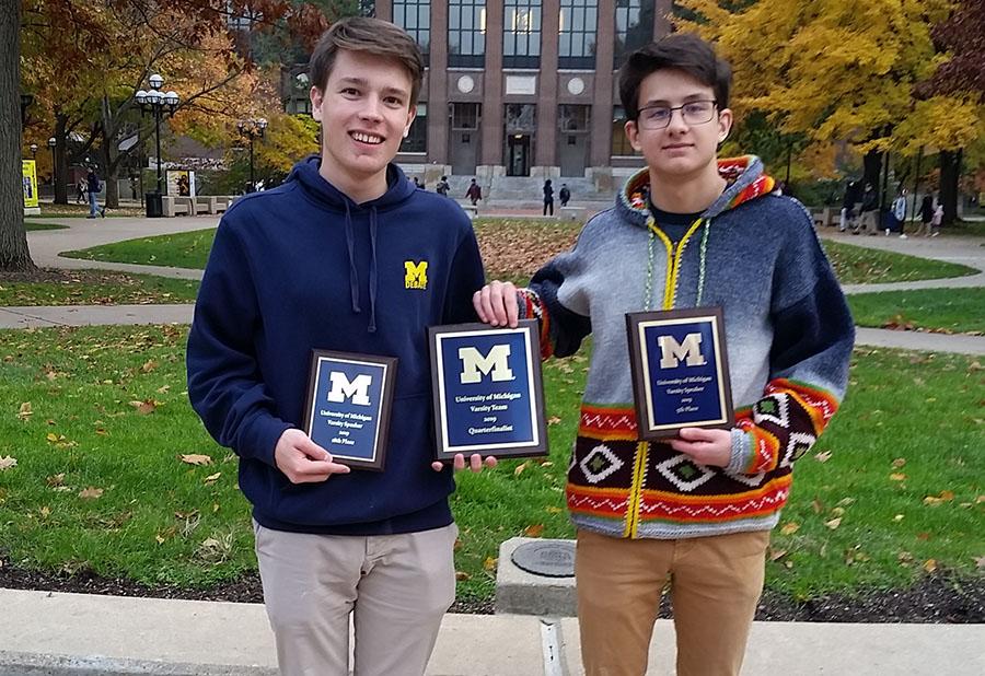 City High Debate Succeeds at Michigan Tournament