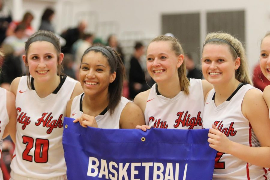 The City High girls basketball team will be playing in the Quarterfinals of the Class 5A state tournament on Monday, March 2nd.