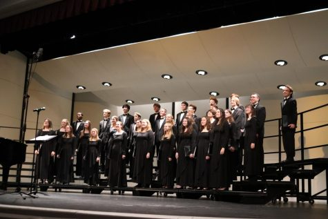 The Choir Department Holds its Annual February Concert