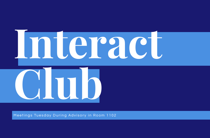 Interact Club Raises Over $500 for Charity