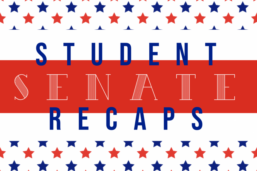 Want to learn more about student senate? Check back weekly for the student senate recap.