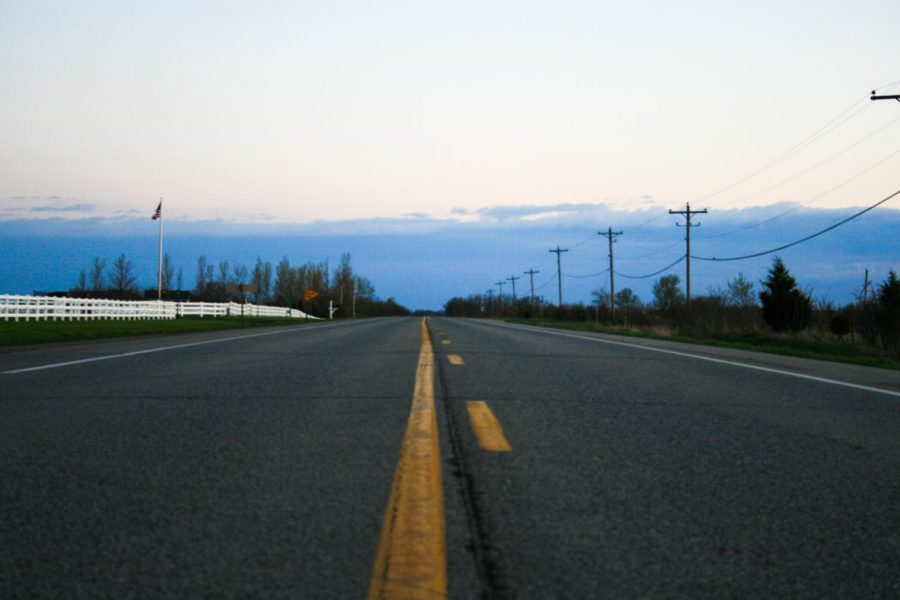In the second week of COVID-19, highway 1 is empty.