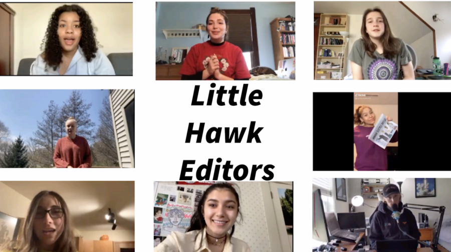 After a week long interview process the following City High students were selected to lead The Little Hawk journalism team in 2021.