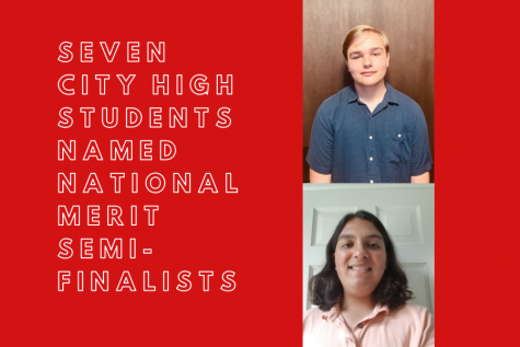 Seven City High students have been named National Merit semi-finalists for 2020.