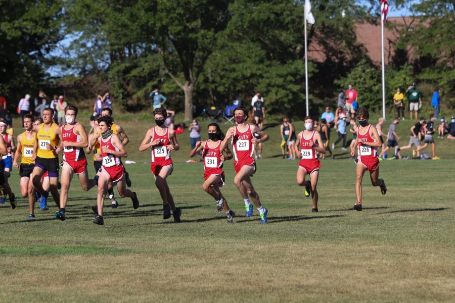 Boys Cross Country Places Fourth at Varsity and Top JV's First Race of the Season